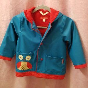 Skip hop owl raincoat toddler M(3-4)